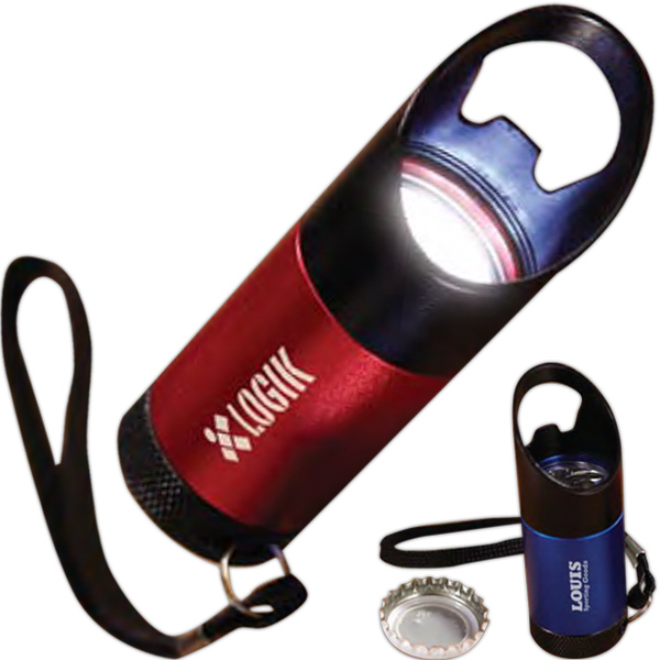 Printed Bottle opener flashlight