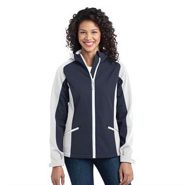 Personalized Ladies' Port Authority (R) Gradient soft shell jacket