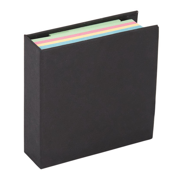 Customized 250 Sheet Memo Book with 125 Sticky Notes