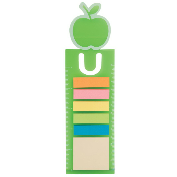 Promotional Apple Book Mark with 150 Sticky Notes