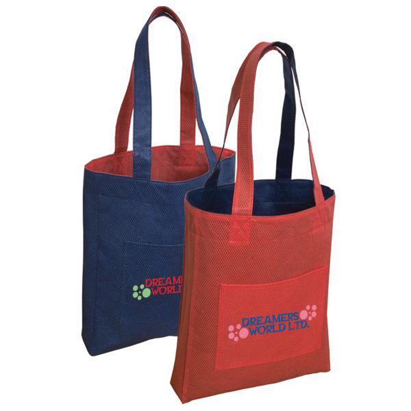 Printed Non Woven Reversible Tote Bag
