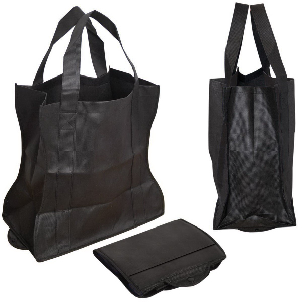 Imprinted Folding Non Woven Tote Bag