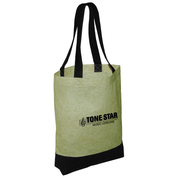 Imprinted Jute Non Woven Convention Tote