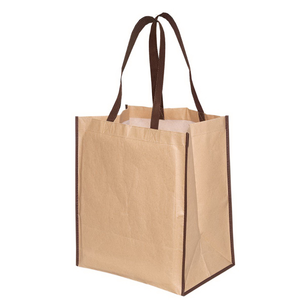 Personalized Kraft Paper Tote