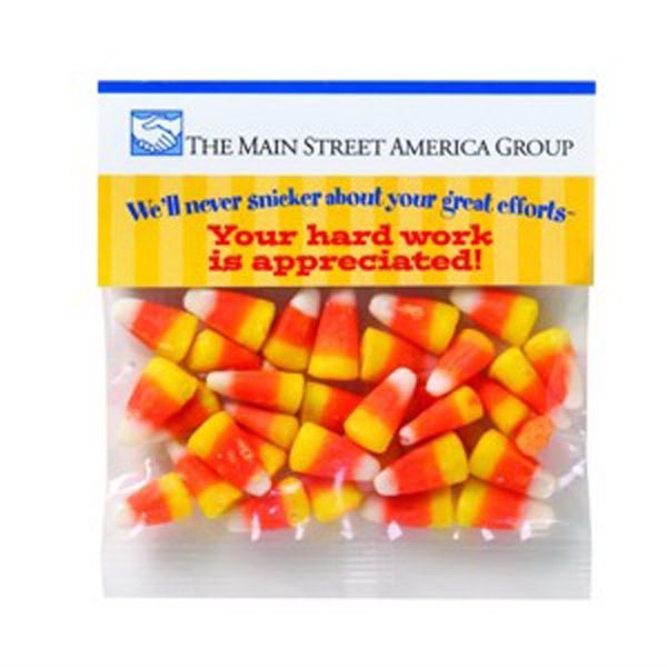 Customized 2 oz Candy Corn / Header Bag