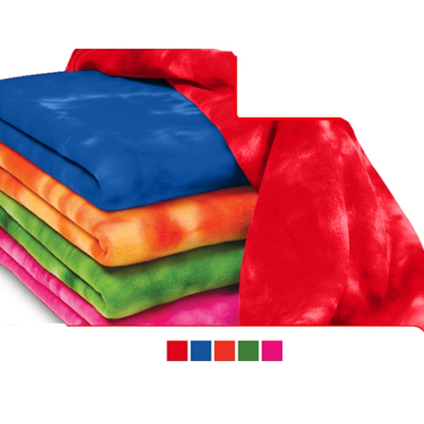 Personalized Tie Dye Blanket