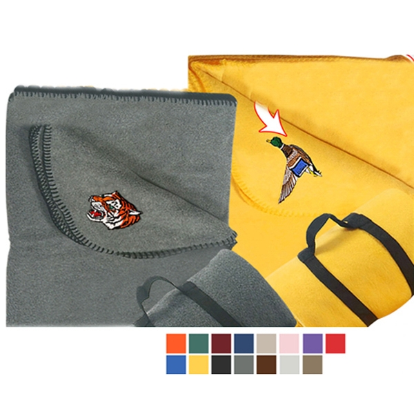Promotional Polar Fleece Blanket