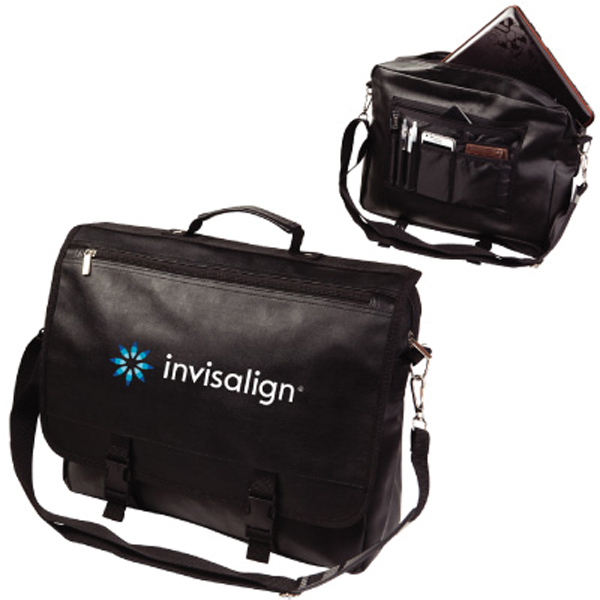 Promotional The Elegant Koskin Laptop Messenger Bag