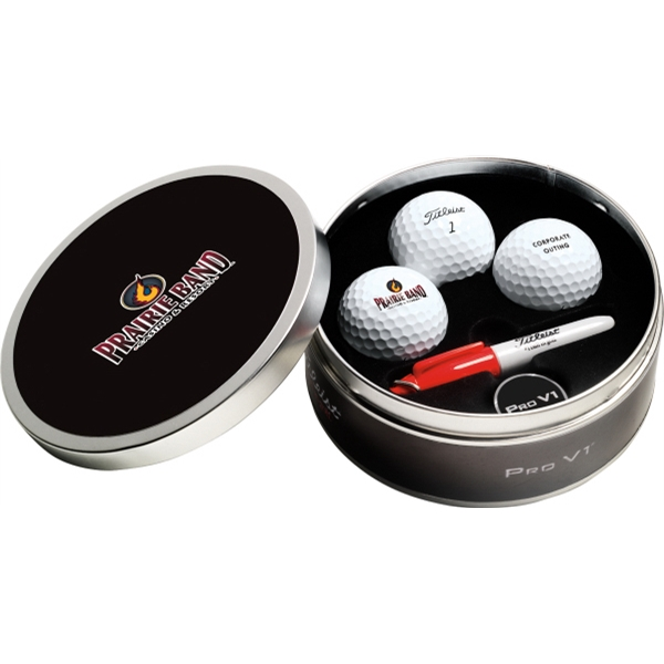 Custom Titleist Collection Tin