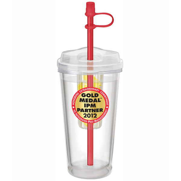 Customized Takeout Tumbler Infuser 16 oz, Screen Print