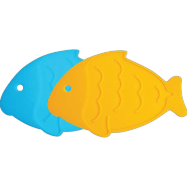 Personalized Fish Silicone Trivet