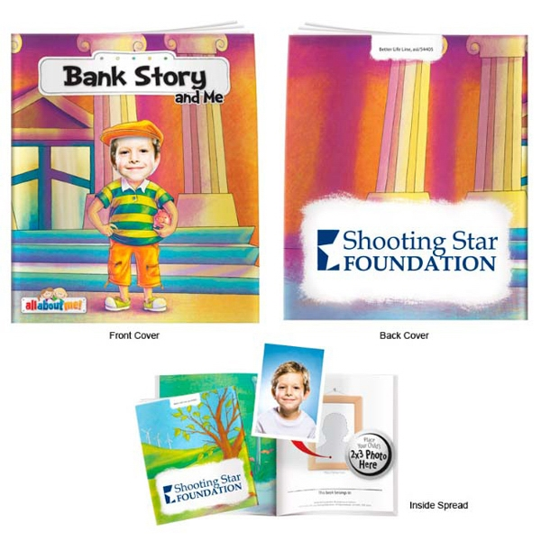 Custom Bank Story and Me- It's All About Me Book