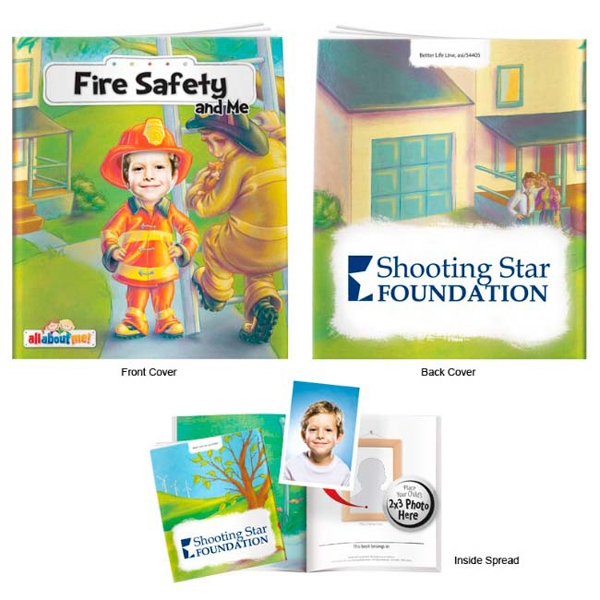Printed Fire Safety and Me-It's All About Me Book