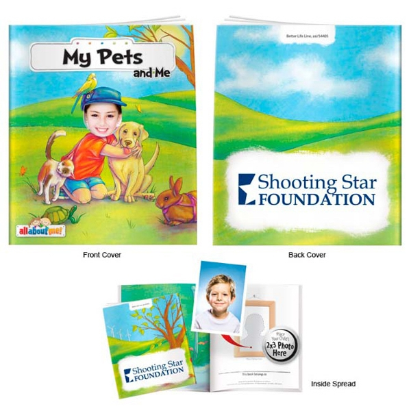 Personalized My Pets and Me- It's All About Me Book