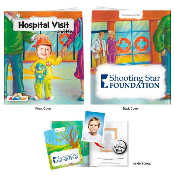 Personalized Hospital Visit and Me- It's All About Me Book