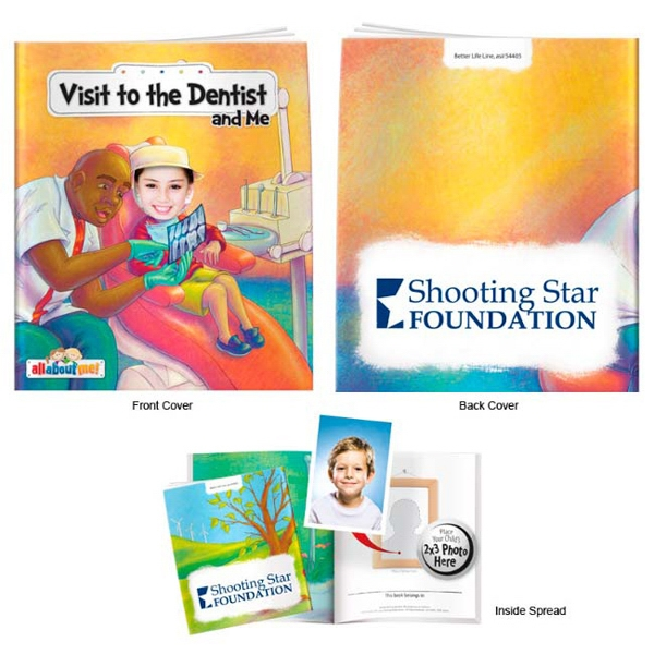Promotional Visit to the Dentist and Me- It's All About Me Book