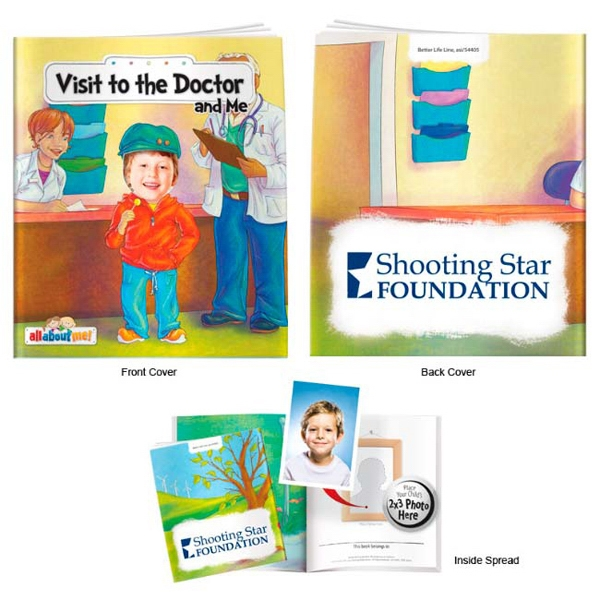 Printed Visit to the Doctor and Me- It's All About Me Book