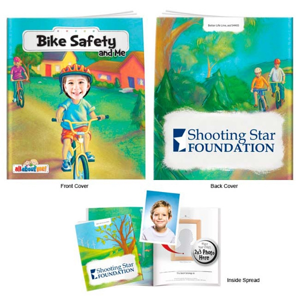 Personalized Bike Safety and Me- It's All About Me Book