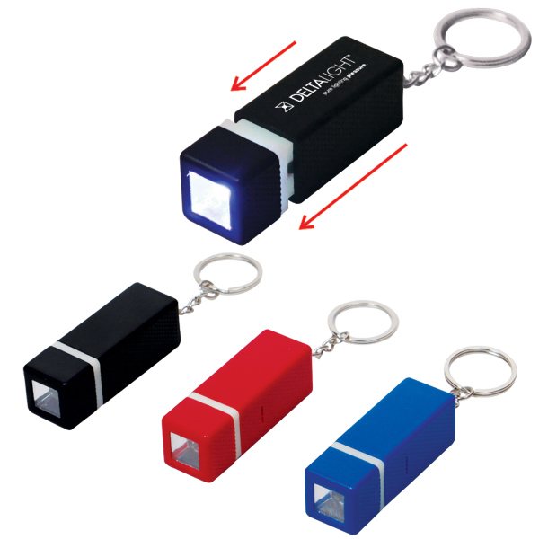 Promotional Square LED Key Chain
