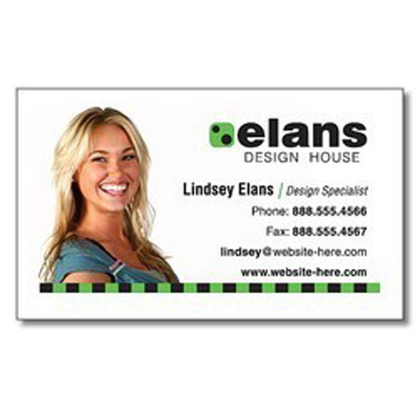 "Personalized Magnet - 3.125"" x 1.875"" Square Corners - 25 mil"
