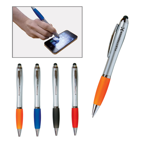 Printed Emissary Duo Pen/Stylus for Touch Screen Devices