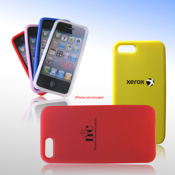 Printed Silicon Protective Case for iPhone 5