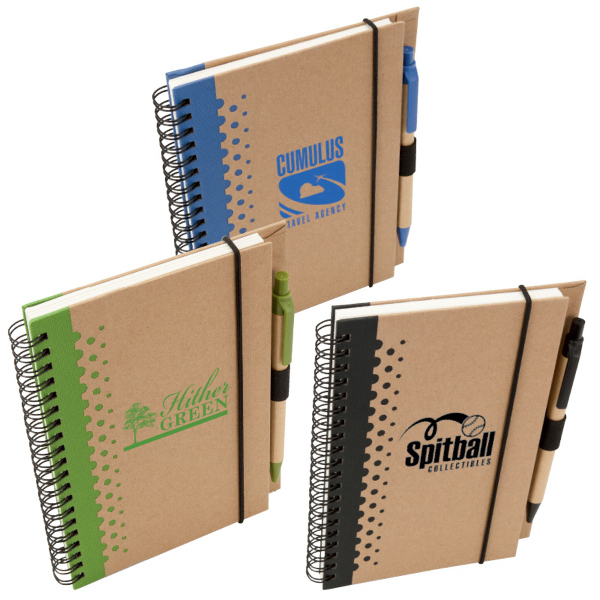 Promotional Nature Writer Notebook & Pen