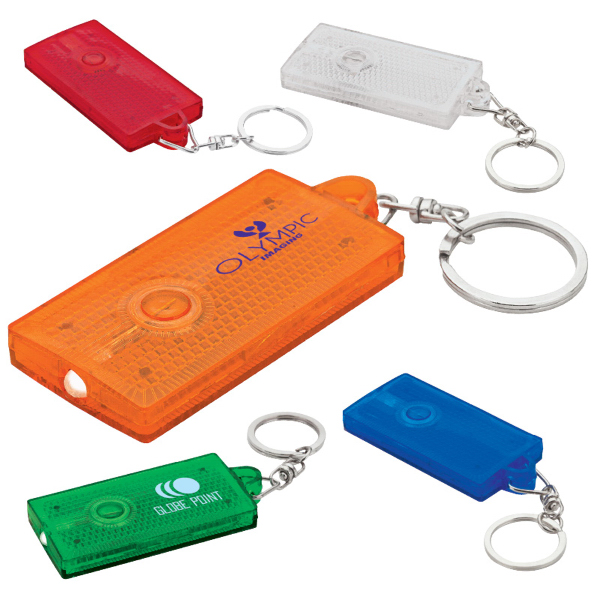 Personalized Reflected Pop Keychain & Light