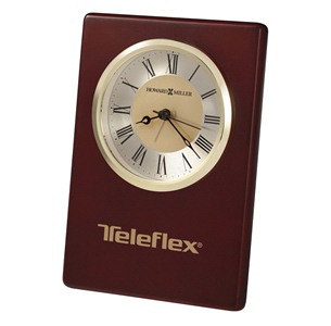 Imprinted Montclair Table Alarm Clock