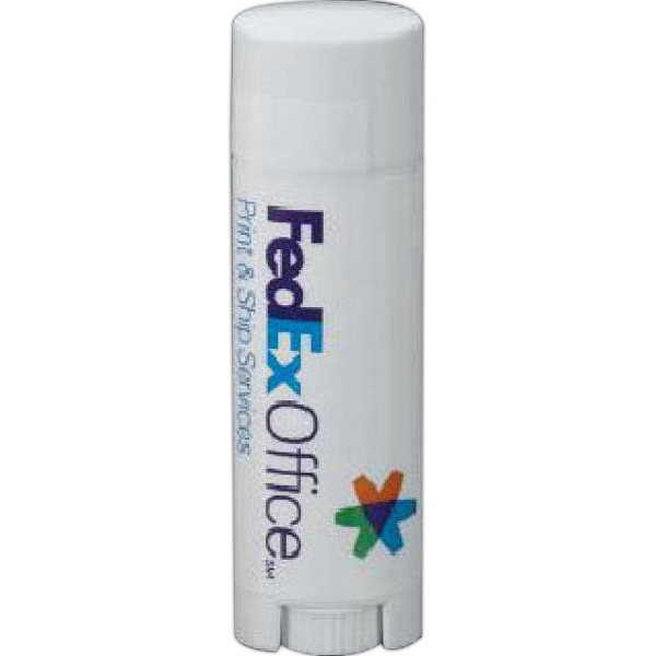 Promotional SPF 15 Lip Balm in Oval Tube