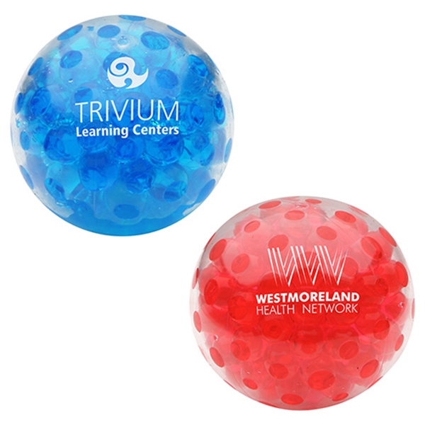 Personalized Bead Squeeze Gel Ball