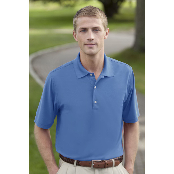 Customized Greg Norman Play Dry (R) Performance Mesh Polo