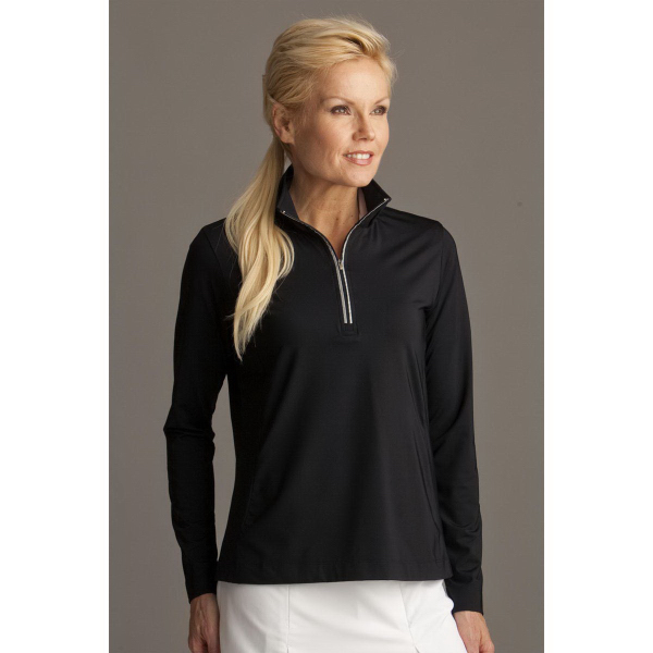 Printed Women's Greg Norman Play Dry (R) 1/4-Zip Active Pullover
