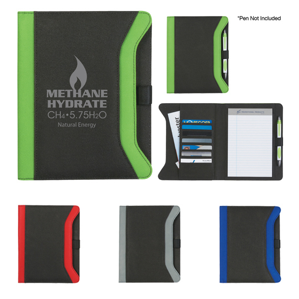 "Customized Non-Woven 5"" x 7"" Endeavor Portfolio"