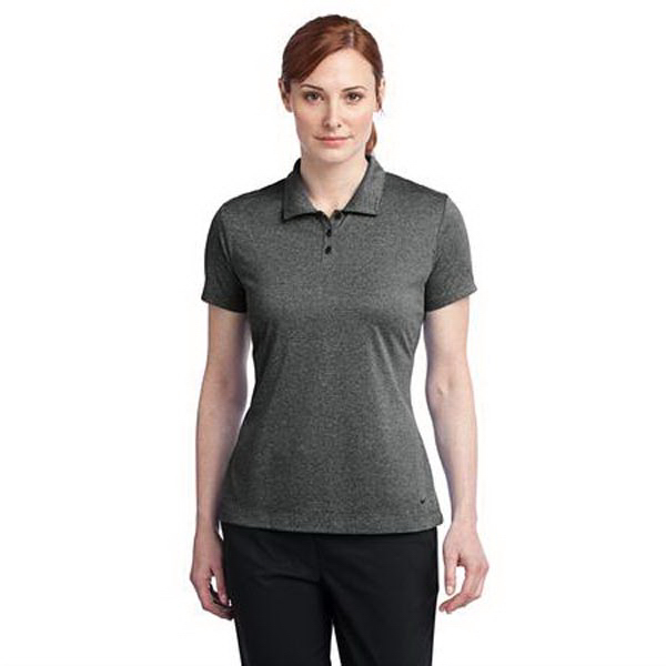 Personalized Ladies' Nike Golf (R) Dri-FIT heather polo