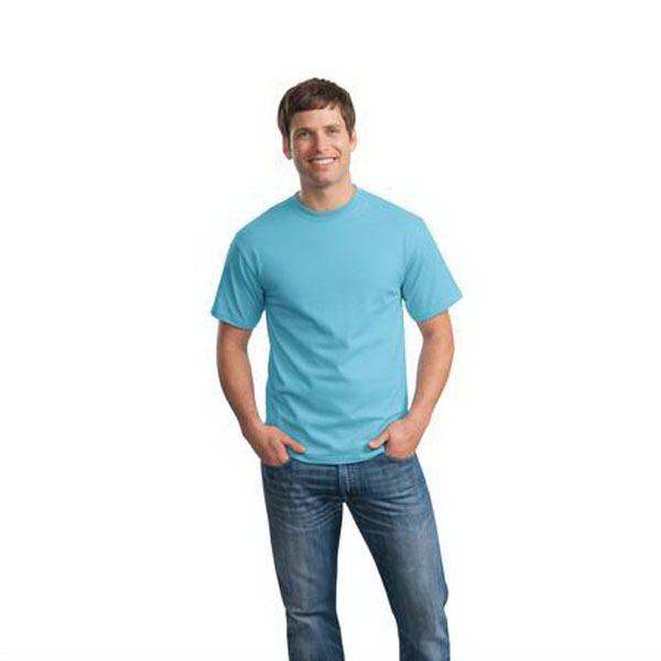 Imprinted Hanes® Tagless® 100% cotton t-shirt