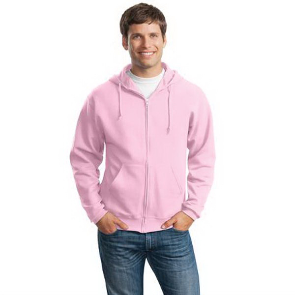 Customized Jerzees® Nublend (R) full-zip hooded sweatshirt