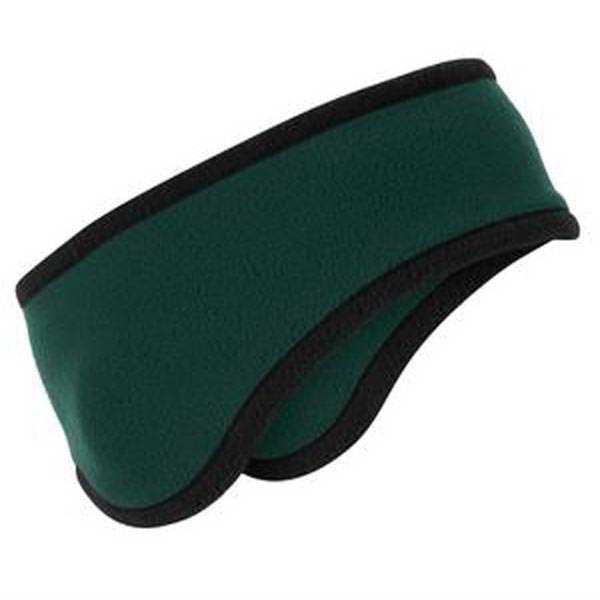 Personalized Port Authority (R) Two color fleece headband