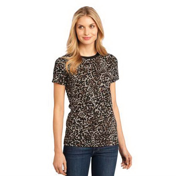 Imprinted District Threads® short sleeve District® camo tee
