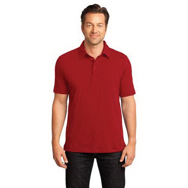 Promotional District Made (TM) Men's Slub Polo