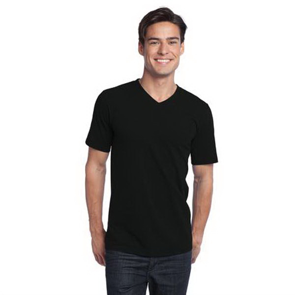 Custom Young men's District ® concert v-neck tee