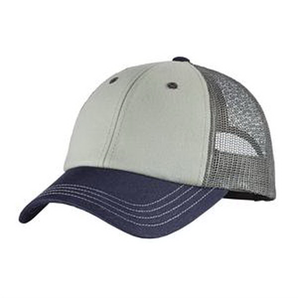 Customized District (R) Tri-tone mesh back cap