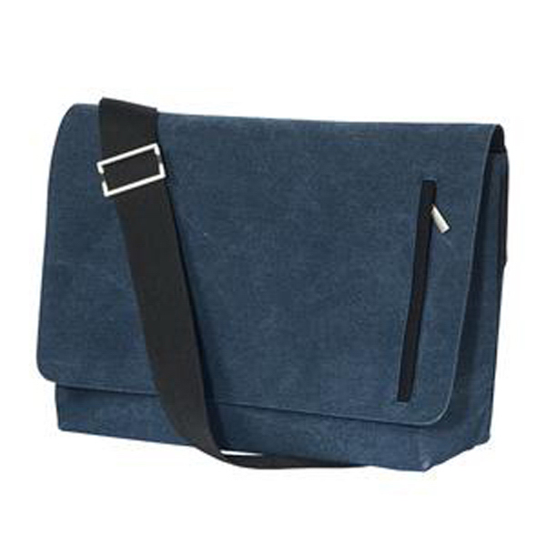 Imprinted District (R) Messenger bag