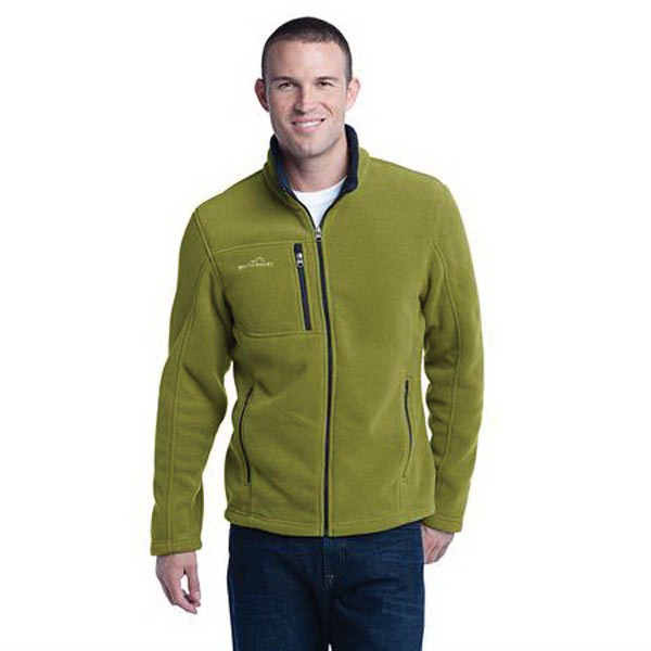 Printed Eddie Bauer (R) full zip fleece jacket