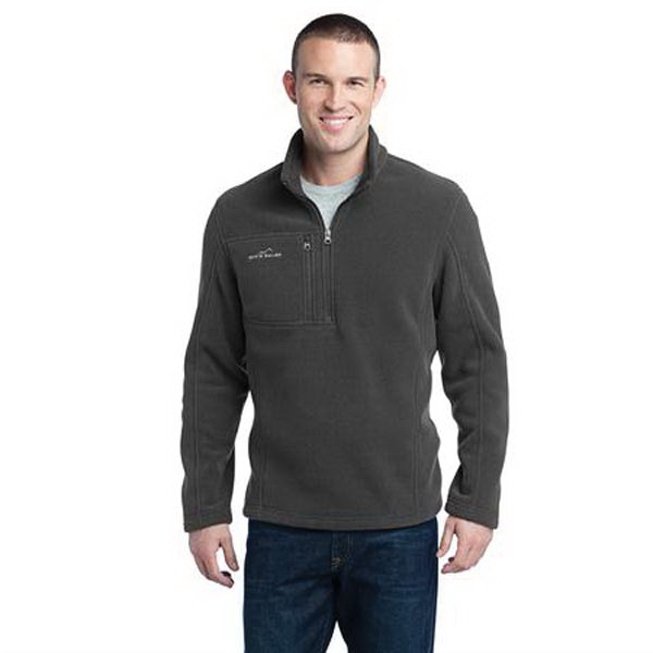 Custom Eddie Bauer (R) 1/4 Zip Fleece Pullover