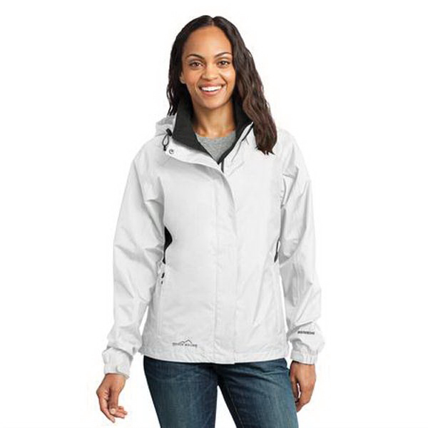 Imprinted Eddie Bauer (R) ladies' rain jacket