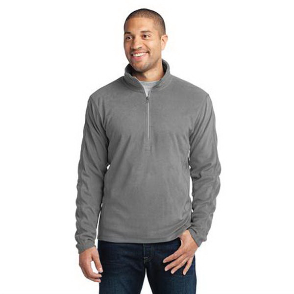 Personalized Port Authority (R) Microfleece 1/2 Zip Pullover Jacket