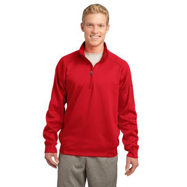 Imprinted Sport-Tek (R) Tech Fleece 1/4 Zip Pullover