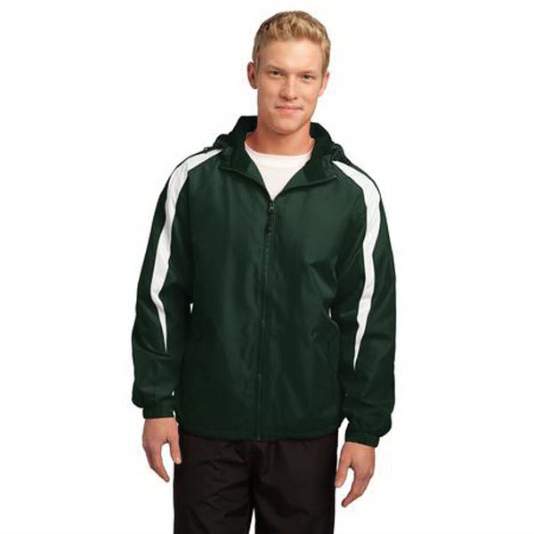 Printed Sport-Tek (R) Fleece lined colorblock jacket
