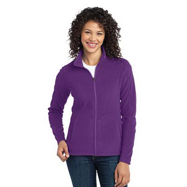 Printed Ladies' Port Authority (R) Microfleece Jacket
